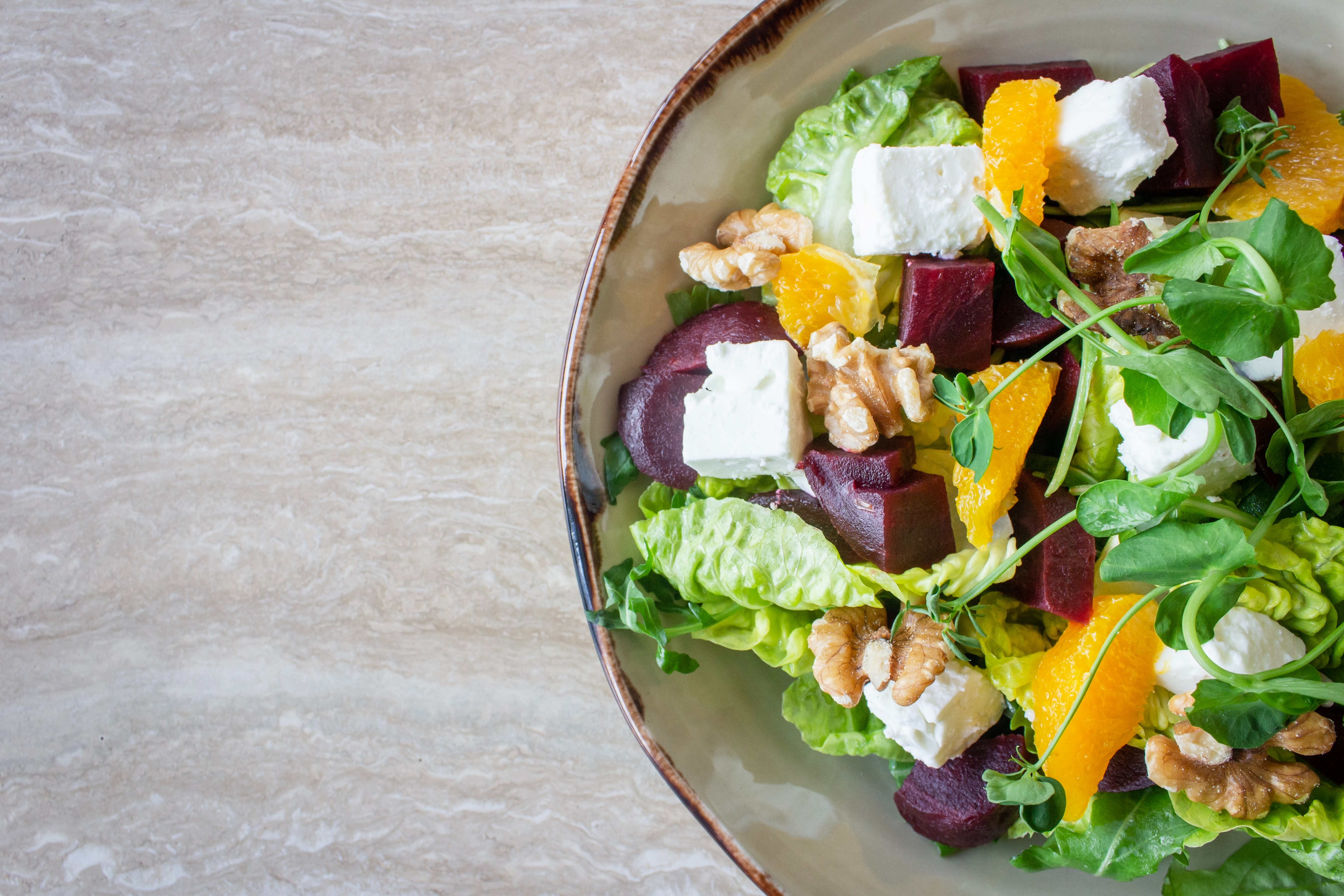 CBD oil salad